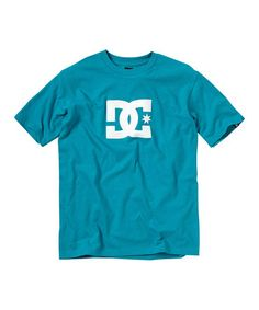 Take a look at this Teal Star Tee - Toddler & Boys by DC on #zulily today!