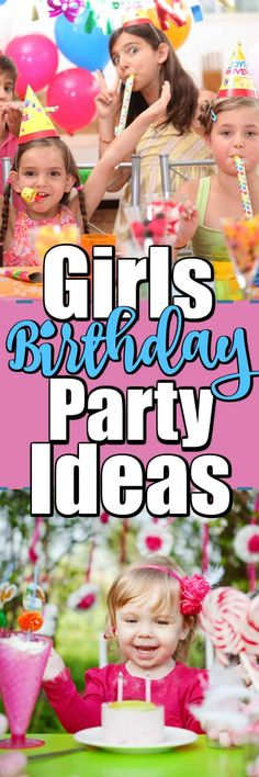 Girls Birthday Party Ideas will help you find the best party theme, party favors, party decorations to make a girls birthday party spectacular. #girlsbirthdayparty #girlspartyideas #birthdayparty 1st Birthday Boy Gifts, First Birthday Favors, Cute Happy Birthday, Girl Birthday Themes, First Birthday Shirts, Birthday Party For Teens, Birthday Ideas, Elmo Party, Minion Party