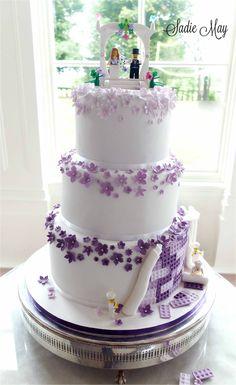 Lego wedding cake by Sadie May Cakes