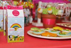 #MilkBox #BabyTV Cajitas tipo Milk Box como #Souvenirs
