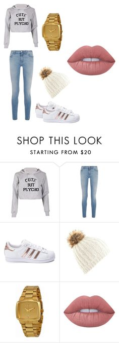 """""""Untitled #21"""" by brokenangel-eva on Polyvore featuring Givenchy, adidas, Nixon and Lime Crime"""