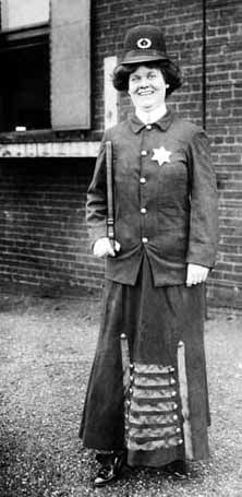 1908—lady law enforcement. I bet she would have recommended Instant Checkmate!