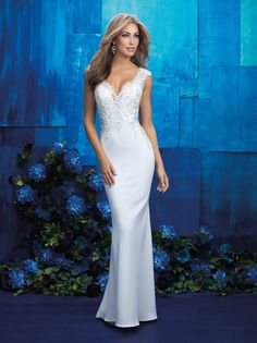 Allure Bridals 9417 Allure Bridal Village Bridal & Boutique - Bridal Gowns, Wedding gowns, Bridal gowns New York,Bridesmaid Gowns, Mother of the Bride Spring 2017 Wedding Dresses, Bridal Wedding Dresses, Wedding Dress Styles, Dream Wedding Dresses, Bridesmaid Dresses, Glitz Bridal, Dresses Dresses, Vestidos Vintage, Vintage Dresses
