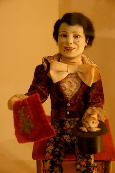 Magician Automaton by Curious Expeditions, via Flickr