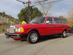1981 Mercedes-Benz 300TD Station Wagon