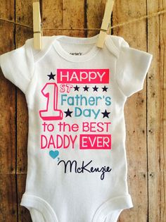 funny 1st fathers day infant bodysuit gift ideas pinterest