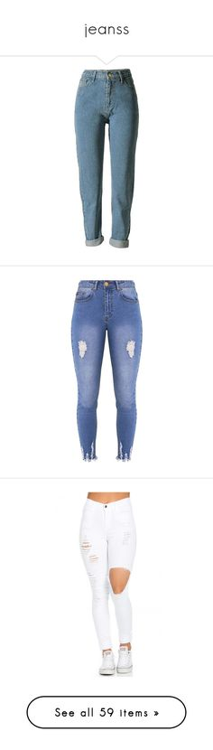 """jeanss"" by badgalk ❤ liked on Polyvore featuring jeans, pants, bottoms, boyfriend jeans, calças, loose fitting boyfriend jeans, high waisted boyfriend jeans, high waisted blue jeans, loose boyfriend jeans and high rise boyfriend jeans"