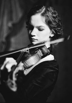Hilary Hahn... one of my favorites!