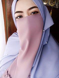 Arab Girls Hijab, Girl Hijab, Muslim Girls, Muslim Couples, Moslem Fashion, Niqab Fashion, Muslim Wedding Dresses, Dress Wedding, Islam Women