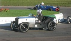 Austin 7 Special   747cc  (Mallory Park  17th October 2010)