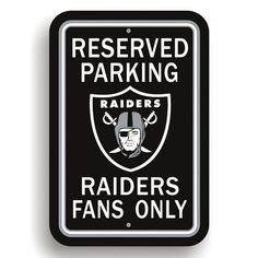 Oakland Raiders Fans Only Sign Raiders Sign, Raiders Stuff, Oakland Raiders Football, Raiders Baby, Raiders Team, Nfl Football, Football Decor, Nfl Sports, Sports Teams