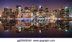 """Manhattan panorama, New York City"" -New York Stock Photo from gograph.com."