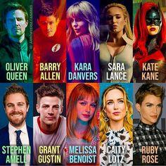 Batwoman, Batgirl, Marvel Dc, Stephen Grant, Flash Characters, Dc Comics Series, Greenhouse Academy, Cw Tv Series, Superhero Shows