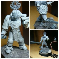 WiP Tylos Rubio 'counts as' for my Heresy XIIIth Legion. Really fun little…