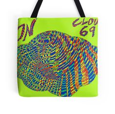 """On Cloud 69"" Tote Bags by indusdreaming 