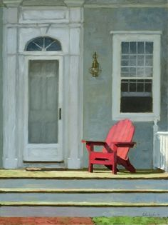 Red Chair by Paul Schulenburg
