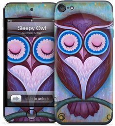 Sleepy Owl by Jeremiah Ketner for iPod Touch (5th Gen.).  14.95 Iphone 15fc158e796c5