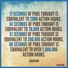 68 seconds