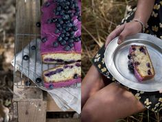 Blueberry poppy seed loaf