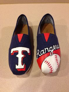 Customized Painted Shoes by PaperPaintScissors on Etsy, $55.00