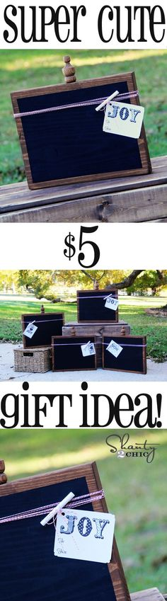 DIY #Christmas Gift Idea at Shanty-2-Chic.com // Perfect gift for teachers, family or ANYONE!  LOVE these!