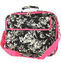Toile Print 17 Inch Padded Computer Laptop Case Messenger Bag >>> For more information, visit image link. (This is an Amazon Affiliate link and I receive a commission for the sales)