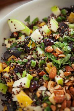 Quinoa Chopped Veggie Salad, photo by Melanie Grizzel | Camille Styles