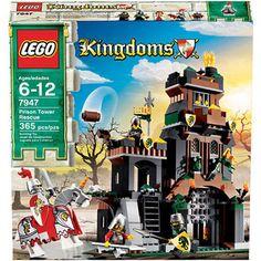 Lego Kingdoms 7947 Prison Tower Rescue 673419131049   eBay