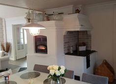 Finland Country, Cottage Design, Diy Sauna, Sweet Home, Stoves, Interior, House Ideas, Houses, Fire
