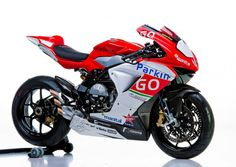 MV Agusta Corse ParkinGO Supersport Race Bike. If it goes as well as it looks....good to see them back.