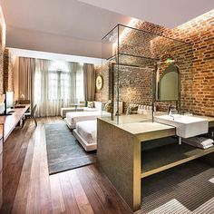 Loke Thye Kee Residences in Georgetown Penang, Malaysia designed by Ministry of Design #ministryofdesign #inandoutdecor (www.inandoutdecor.com.br)