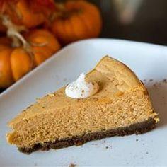Pumpkin Spice Cheesecake Canned Pumpkin, Pumpkin Pie Spice, Pumpkin Puree, Microwave Bacon, Cream Cheese Eggs, Food Wishes, Ginger Snap Cookies, Cookie Crumbs, Food Reviews