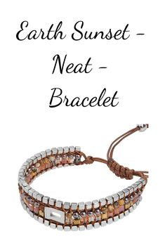 The bracelet Earth Sunset Neat captures the beautiful Sunset with warm and shifting colors. Bangles, Bracelets, Beautiful Sunset, Period, Fragrance, Delivery, Earth, Cosmetics, Accessories