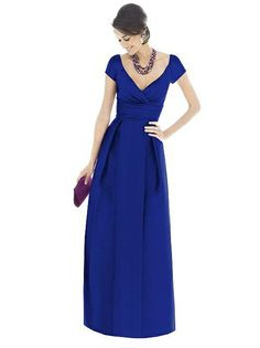 Alfred Sung Bridesmaid Dress D501
