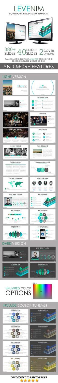 Levenim PowerPoint Template - Business PowerPoint Templates