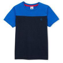 T-shirt blauw-navy