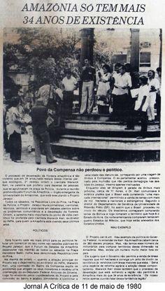 Jornal A Crítica 11/05/1980