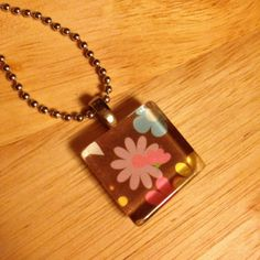 My try at necklace making. Turned out awesome I think.