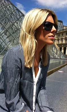 At Le Louvre Mollie King