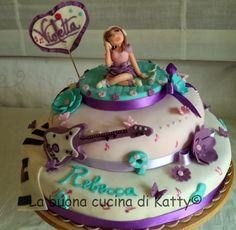 La buona cucina di Katty: Torta Violetta Disney ..... per il compleanno di Rebecca Violetta Disney, Birthday Cake, Desserts, Kids, Food, Dress, Tailgate Desserts, Toddlers, Costume Dress