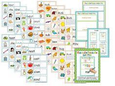 CVC, CCVC/CVCC and CVCe self-correcting bead work.   A Differentiated Kindergarten: Beads