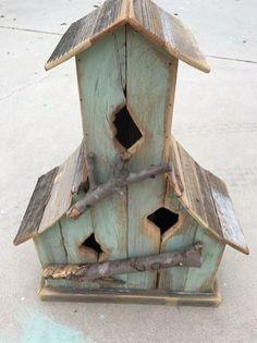 Bird House Plans 301107925083952069 - Awesome Bird House Ideas For Your Garden 128 Source by chantallouvanco Bird House Plans, Bird House Kits, Bird House Feeder, Bird Feeders, Bird Aviary, Bird Houses Diy, Garden Houses, Bird Boxes, Rustic Gardens