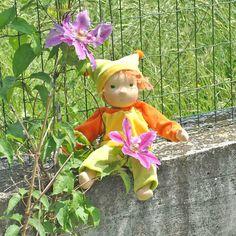waldorf baby doll  ::   Amanda :: by LaFiabaRussa on Etsy