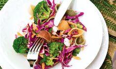 Salada de massa com legumes