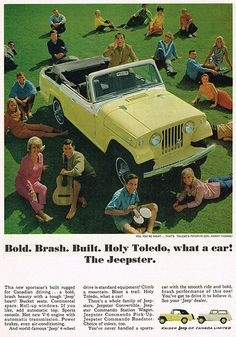 Vintage Ad #1,996: Girl I'm Just a Jeepster
