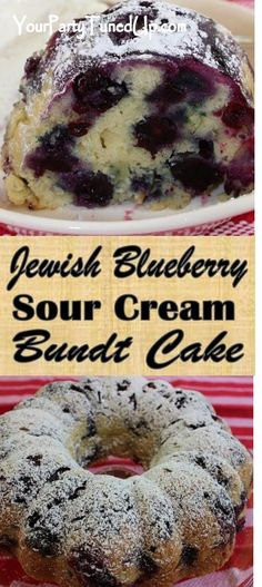 Desserts To Make, Delicious Desserts, Yummy Food, Baking Recipes, Dessert Recipes, Jewish Recipes, Blueberry Recipes, Bakery Cakes, Coffee Cake