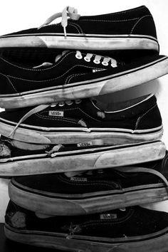 stack o' vans Vans Sneakers, Vans Shoes, Boat Shoes, High Top Sneakers, Converse, Vans Off The Wall, Vans Sk8, I Love Music, Swagg