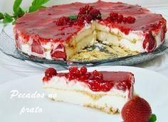 Pecados no prato: Sobremesa rápida de frutos vermelhos