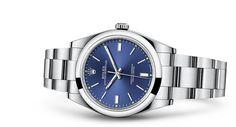 Часы Rolex Oyster Perpetual 39: Сталь 904L – 114300