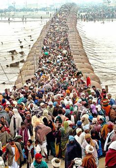 Magh Mela - Hindu Pilgrimage. See more beautiful places at www.fabuloussavers.com/wplaces.shtml